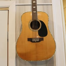 USED Takamine F451S 12-String Acoustic Guitar Natural image