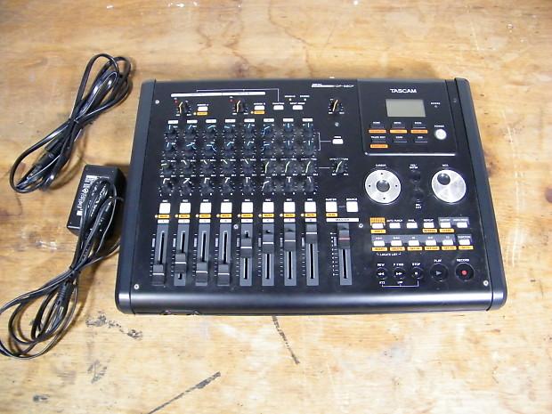 tascam dp 02cf 8 track digital audio workstation reverb. Black Bedroom Furniture Sets. Home Design Ideas