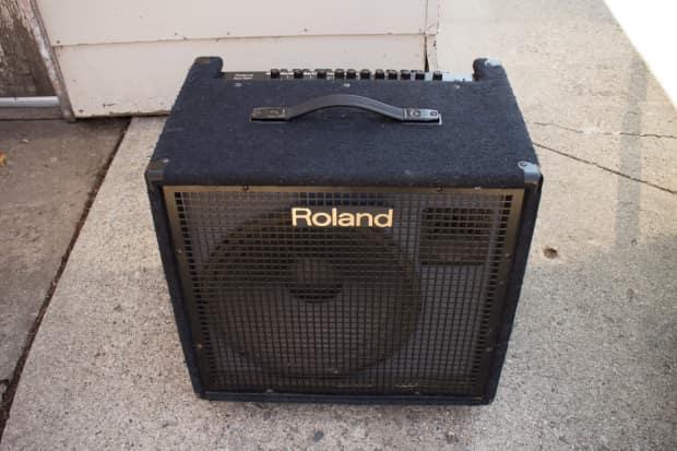 roland kc 500 stage keyboard amplifier multi channel stereo reverb. Black Bedroom Furniture Sets. Home Design Ideas