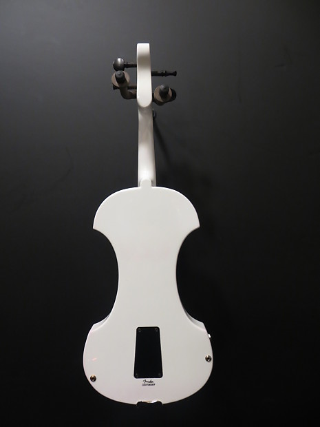 Fender FV-1 White Electric Violin Outfit | Reverb