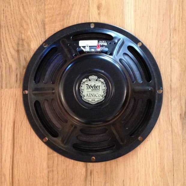 Weber Vintage Series 10a125 Alnico Magnet Speaker 10 Inch