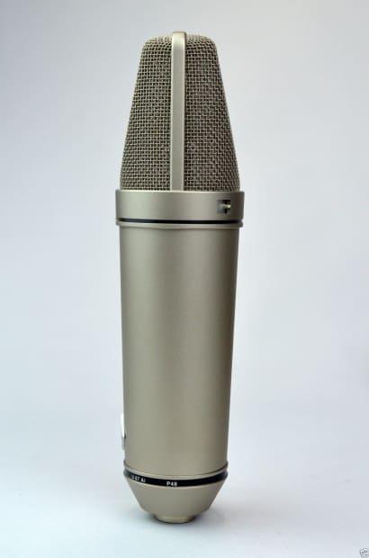 neumann u87 ai condensor mic 39 mint condition 39 w 2 year reverb. Black Bedroom Furniture Sets. Home Design Ideas