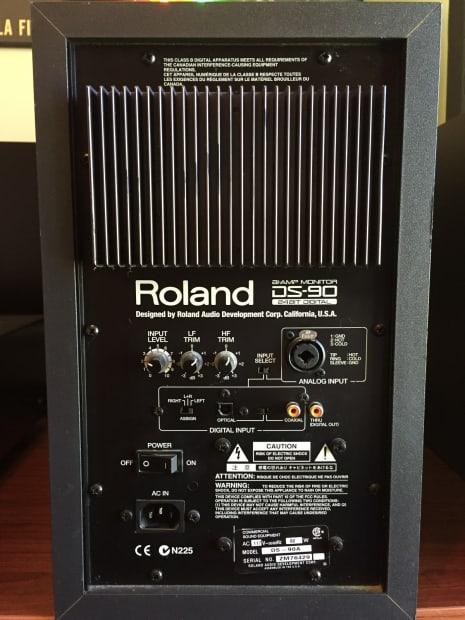 Roland Ds 90 Speakers Pair Studio Monitors Reverb