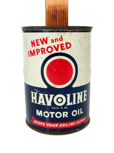 The Gearhead Series 15 Havoline Motor Oil One String Oil Can Canjo Reverb
