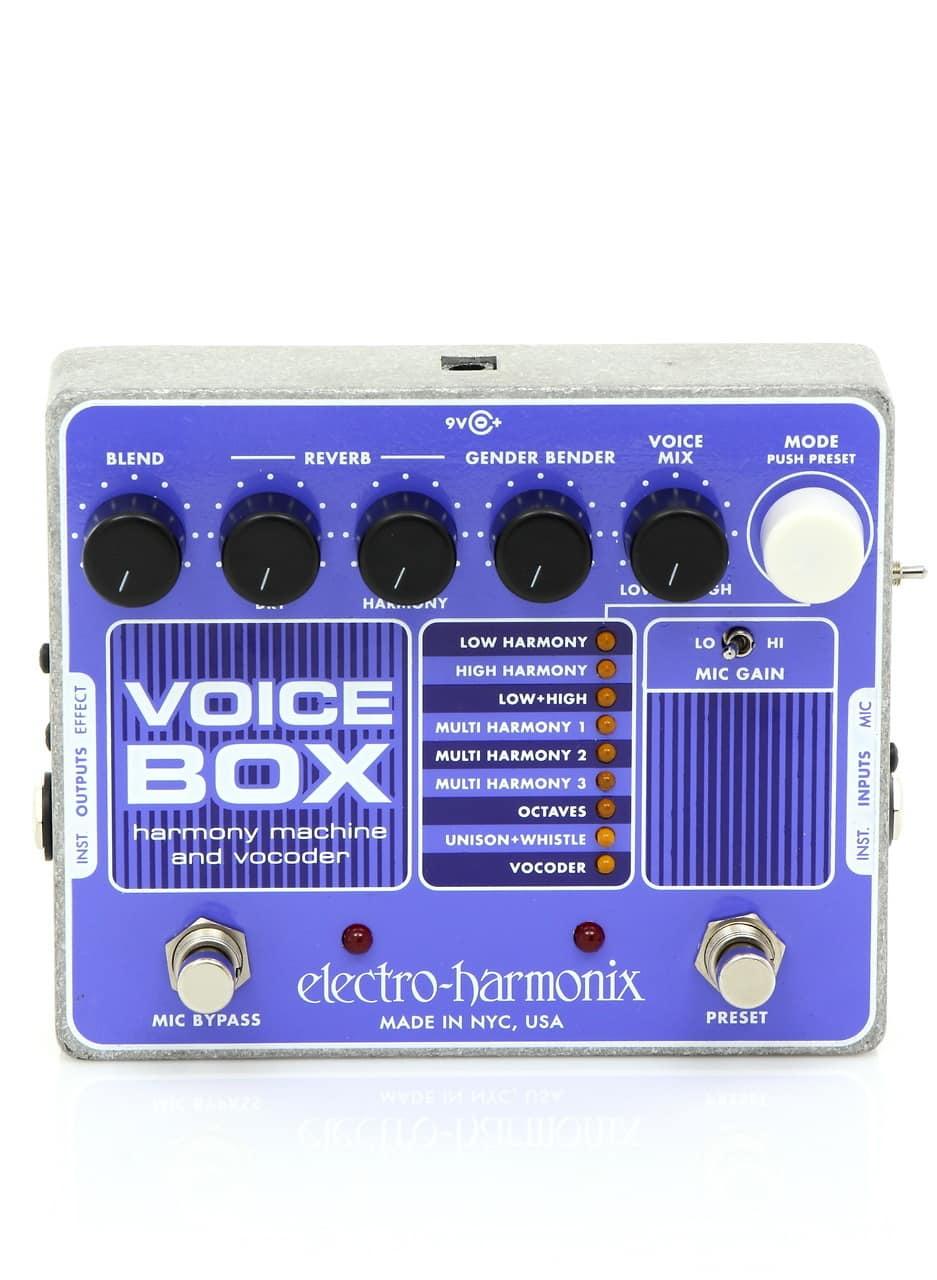 Ehx Voice Box : electro harmonix voice box vocal harmony machine vocoder reverb ~ Hamham.info Haus und Dekorationen