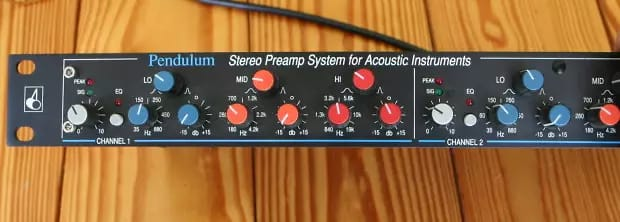 Pendulum SPS-1 Acoustic Dual Channel Preamp | Reverb