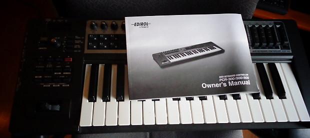 Edirol midi keyboard controller pcr 300