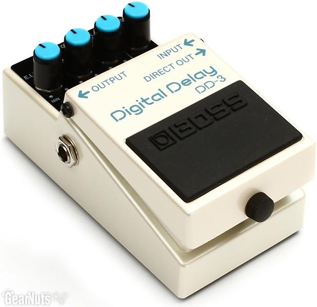 boss dd 3 digital delay pedal reverb. Black Bedroom Furniture Sets. Home Design Ideas