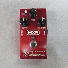 MXR Custom Badass '78 Distortion Metallic Red Dunlop M78 image