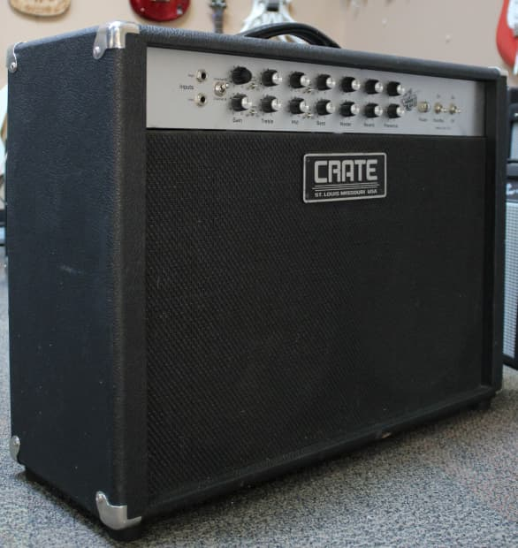 crate vintage club 60 vc6212 tube amp reverb. Black Bedroom Furniture Sets. Home Design Ideas