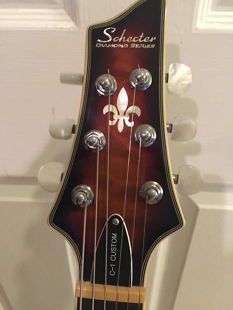 schecter guitar research c 1 custom reverb. Black Bedroom Furniture Sets. Home Design Ideas