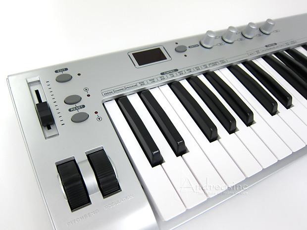 49 key midi usb keyboard controller reverb. Black Bedroom Furniture Sets. Home Design Ideas