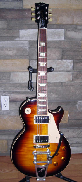 2012 gibson les paul traditional desert burst with bigsby reverb. Black Bedroom Furniture Sets. Home Design Ideas