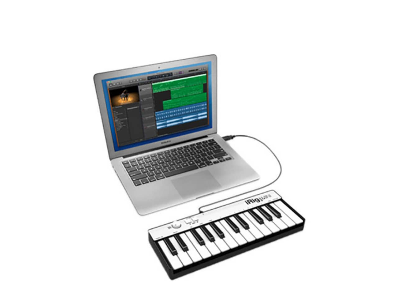 irig keys mini 25 key midi controller for iphone ipad or reverb. Black Bedroom Furniture Sets. Home Design Ideas