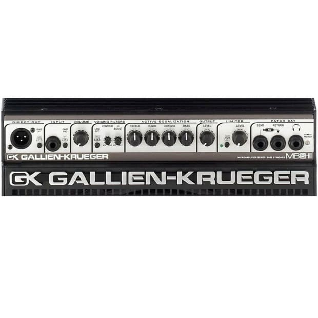 gallien krueger mb150s 112 iii 150 watt 8 4 ohm 1x12 bass reverb. Black Bedroom Furniture Sets. Home Design Ideas