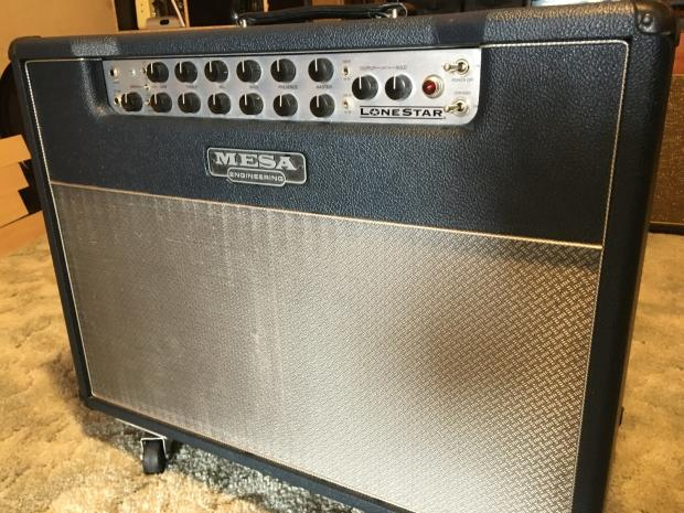 Mesa boogie lonestar 2x12 with evm12l speakers reverb for Mesa boogie lonestar 2x12