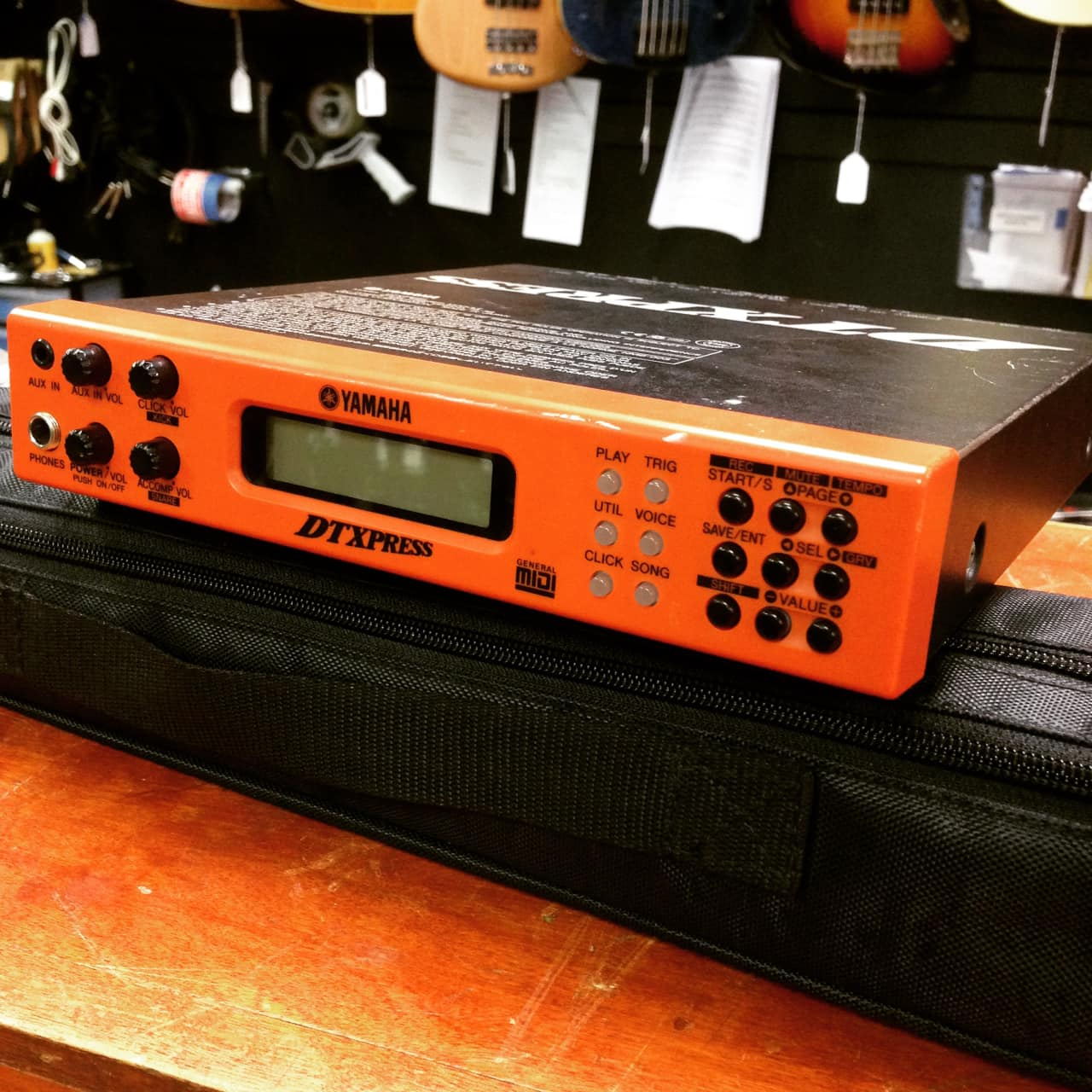 Yamaha dtxpress drum module w power supply reverb for Yamaha dtxpress review