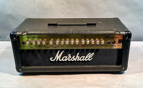 marshall mg100dfx guitar amplifier head used reverb. Black Bedroom Furniture Sets. Home Design Ideas