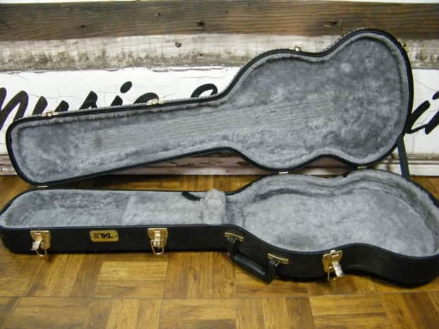 tkl gibson epiphone sg case made in canada black gray reverb. Black Bedroom Furniture Sets. Home Design Ideas