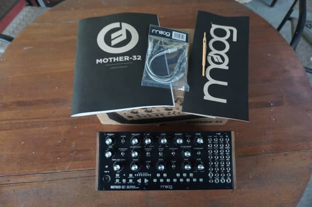 moog mother 32 eurorack semi modular synthesizer sequencer reverb. Black Bedroom Furniture Sets. Home Design Ideas