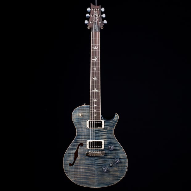 paul reed smith prs p245 semi hollow faded whale blue 10 top reverb. Black Bedroom Furniture Sets. Home Design Ideas