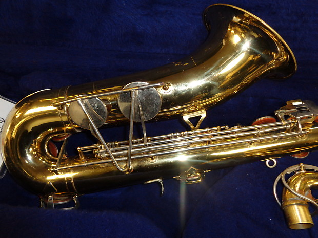 used king model 615 tenor saxophone with case mpc serviced reverb. Black Bedroom Furniture Sets. Home Design Ideas