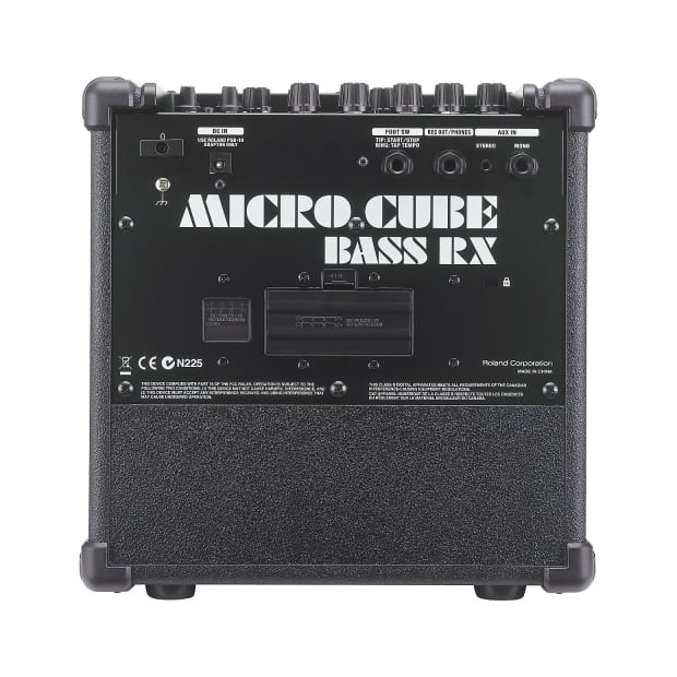 roland micro cube rx battery powered stereo bass amplifier reverb. Black Bedroom Furniture Sets. Home Design Ideas