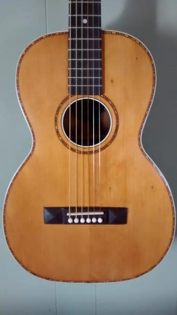 Mj Auto Sales >> Vintage Regal Parlor Guitar - Restored | Reverb