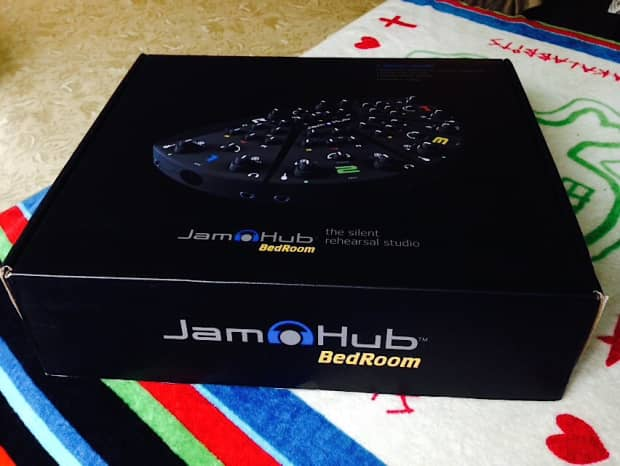 jamhub bedroom system 5 section silent rehearsal studio reverb
