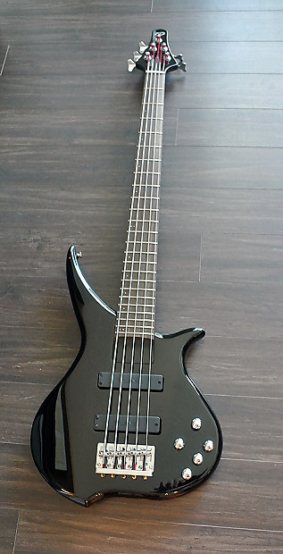 tune twx51 b 5 string bass black finish brand new reverb. Black Bedroom Furniture Sets. Home Design Ideas