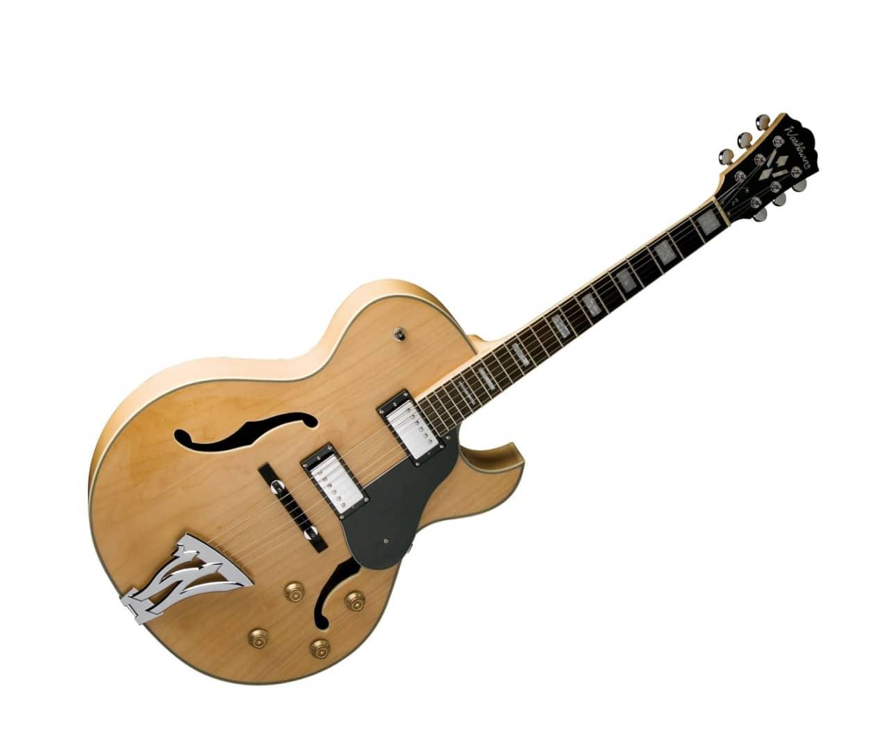 washburn electric hollowbody jazz guitar w hard case reverb. Black Bedroom Furniture Sets. Home Design Ideas