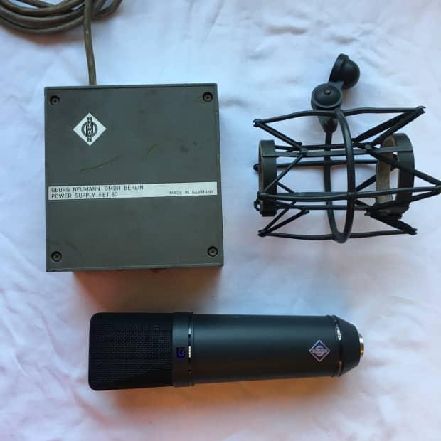 neumann u87 ai complete kit vintage rare microphone full reverb. Black Bedroom Furniture Sets. Home Design Ideas