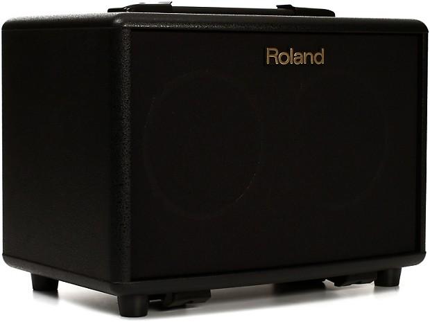 roland ac 33 30 watt battery powered portable acoustic amp reverb. Black Bedroom Furniture Sets. Home Design Ideas