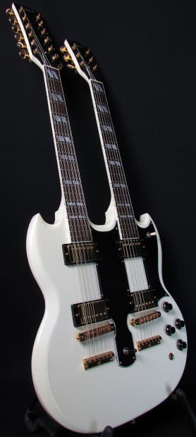 1997 gibson eds 1275 double neck dimarzio 36th anniversay. Black Bedroom Furniture Sets. Home Design Ideas