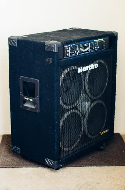 Toms Auto Sales >> Hartke VX3500 Amp Bass Combo 350W 4x10 Speakers | Reverb