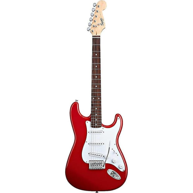 squier by fender bullet strat electric guitar with tremolo reverb. Black Bedroom Furniture Sets. Home Design Ideas