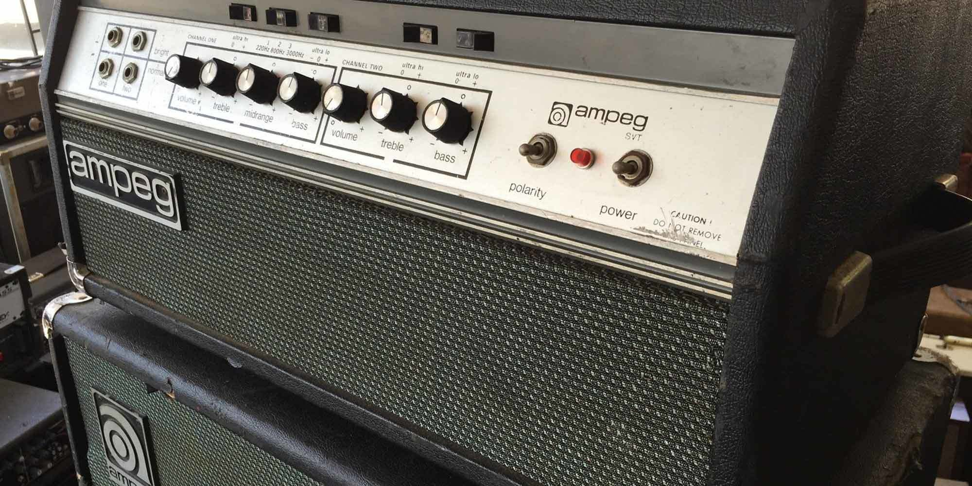 6 Classic Amps Every Bassist Should Know Reverb