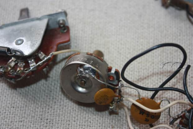 fender stratocaster wiring harness diagram 1965 1966 1967 1968 1969 fender telecaster guitar pots ... 1967 fender stratocaster wiring harness