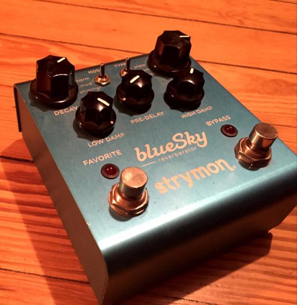 strymon bluesky blue sky reverb pedal w box reverb. Black Bedroom Furniture Sets. Home Design Ideas