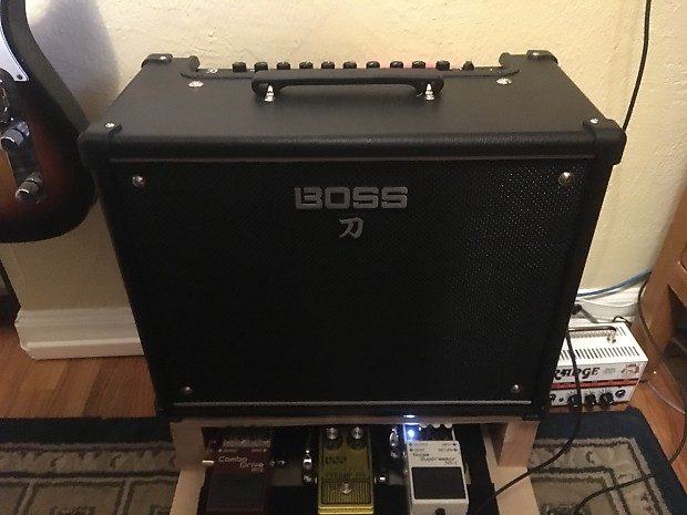 boss ktn 50 katana 50w 1x12 guitar combo amp reverb. Black Bedroom Furniture Sets. Home Design Ideas