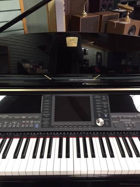Yamaha clavinova cvp 409gp polished ebony reverb for Yamaha clavinova cvp 409