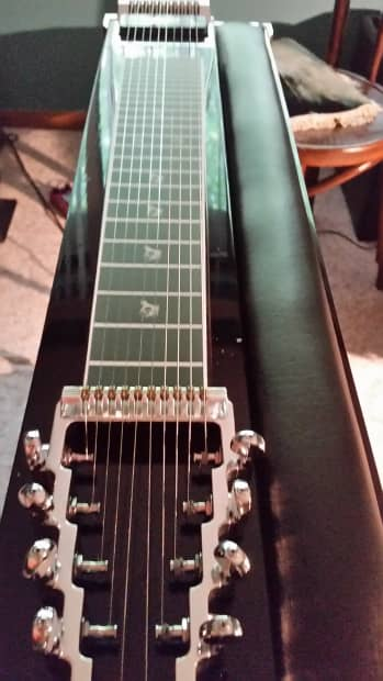 Gibson Auto Sales >> Desert Rose Pedal Steel Guitar 2008 Black/ Pearl Binding ...