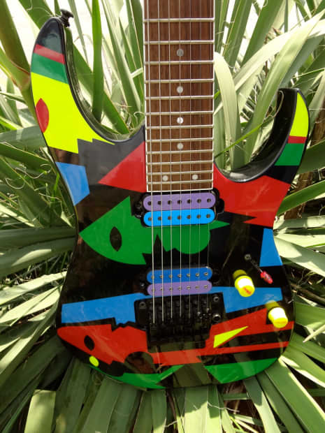 Ibanez Custom 7 String Modeled After Jpm 100 Picasso Reverb