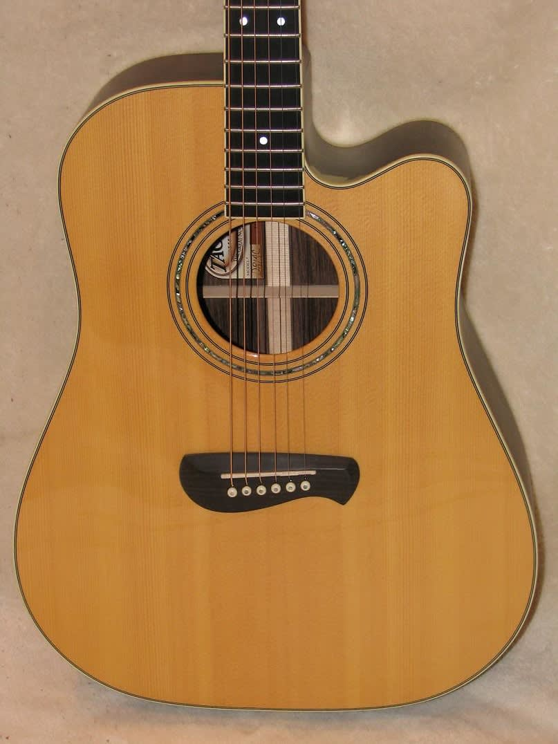 tacoma dr14ce6 usa dreadnought acoustic electric guitar