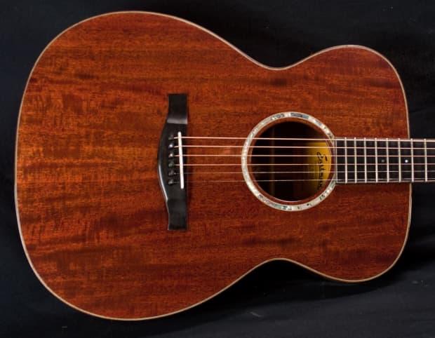 Eastman Ac512m All Mahogany Om Acoustic Guitar 5749 Reverb