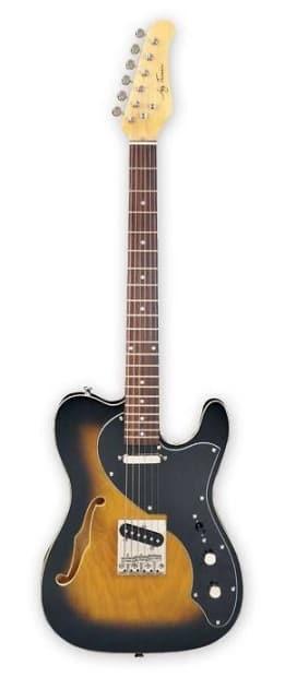 jay turser thinline tele style electric guitar jt ltcrusdlx reverb. Black Bedroom Furniture Sets. Home Design Ideas