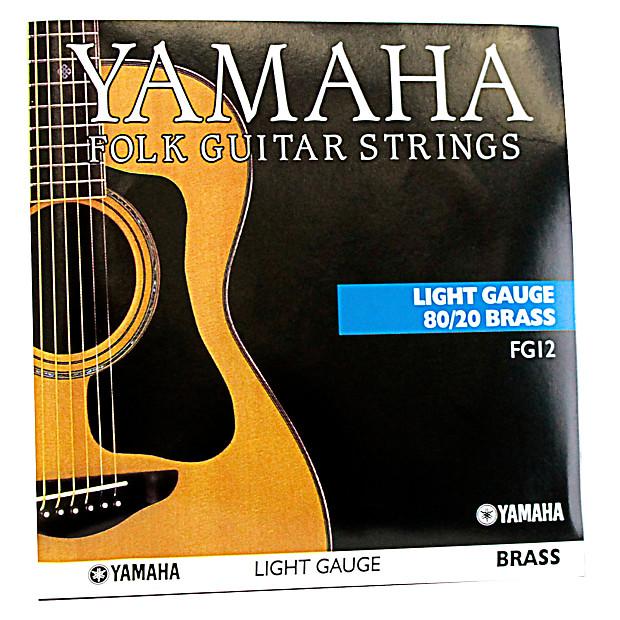 yamaha fg12 80 20 gauge folk guitar strings reverb. Black Bedroom Furniture Sets. Home Design Ideas