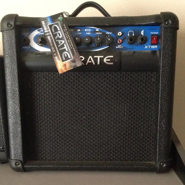 crate xt15r 15 watt guitar amplifier reverb. Black Bedroom Furniture Sets. Home Design Ideas
