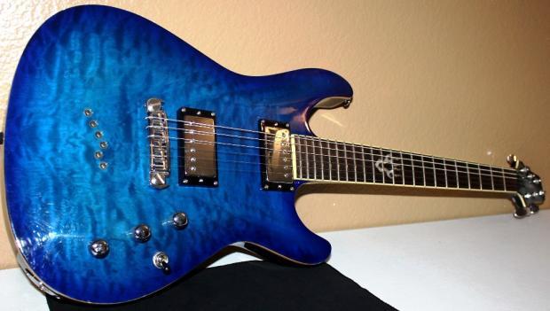 Ibanez Sz520qm Electric Guitar With Upgradesibanez Sz520qm