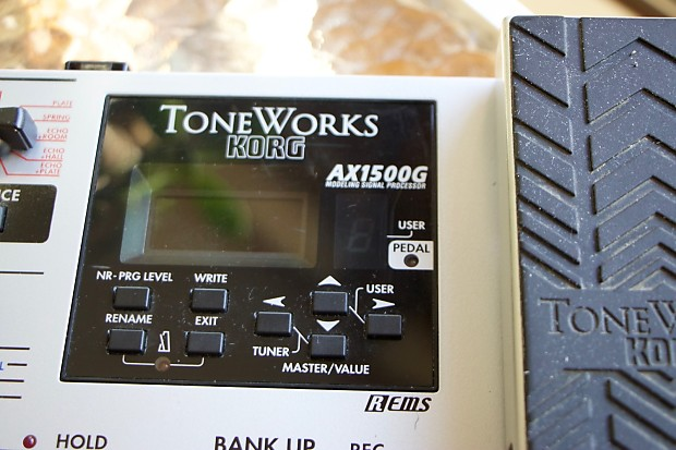 korg ax1500g toneworks guitar multi effects reverb. Black Bedroom Furniture Sets. Home Design Ideas